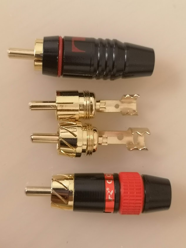 RCA connector 01 02 from AliExpress